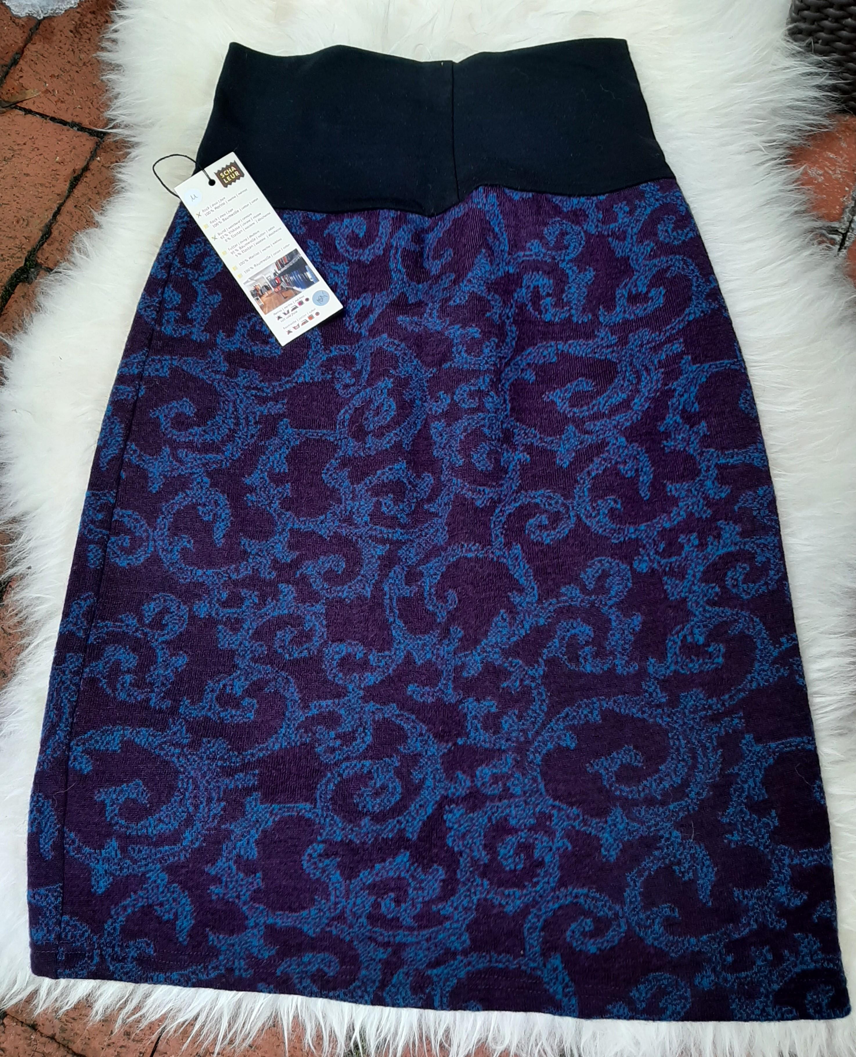 Schaleur Rock blau lila