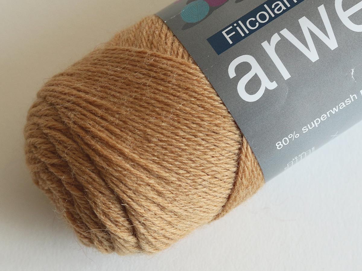 Arwetta classic - 363 Caramel (Sockenwolle)