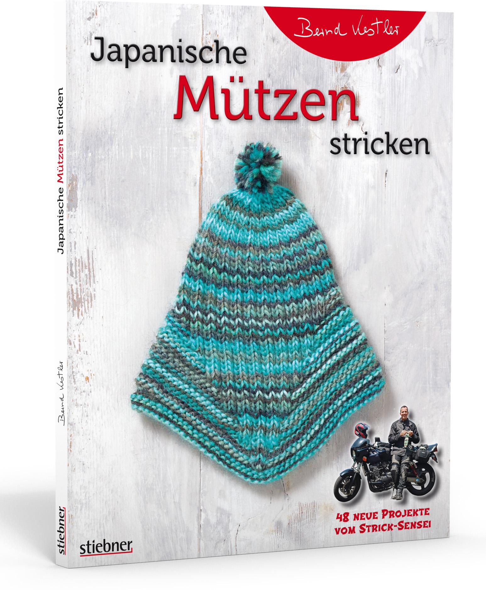 Japanische Mützen stricken (Bernd Kestler)