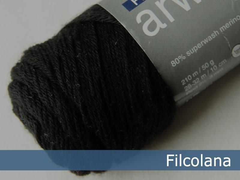 Arwetta classic - 102 Black (Sockenwolle)