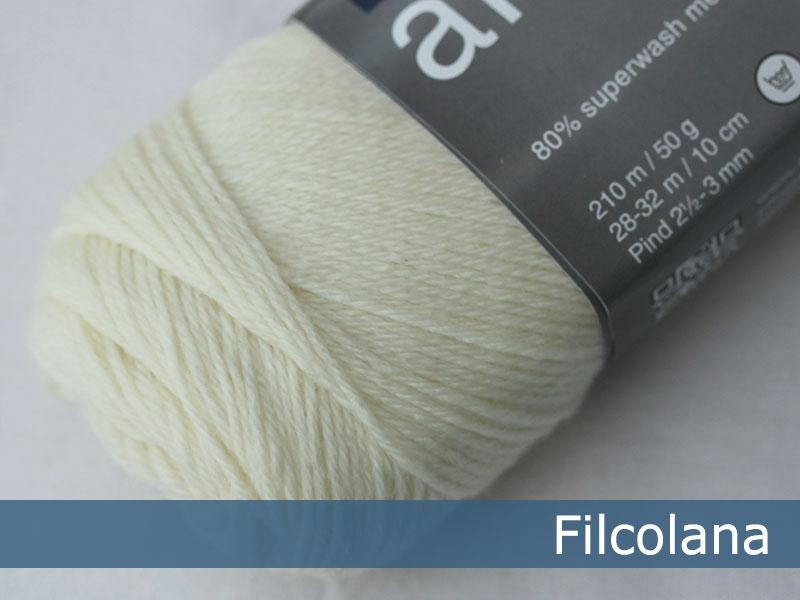 Arwetta classic - 101 Natural White (Sockenwolle)