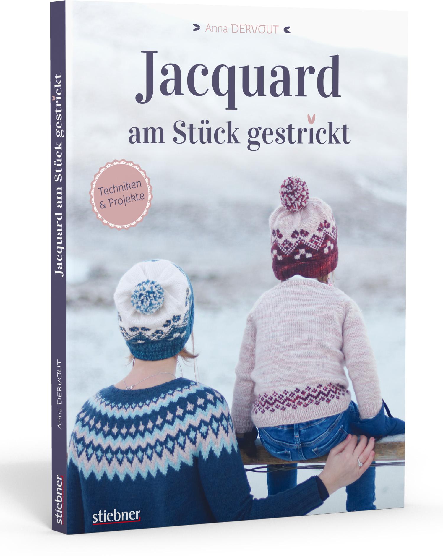 Jacquard - Am Stück gestrickt (Anna Dervout)