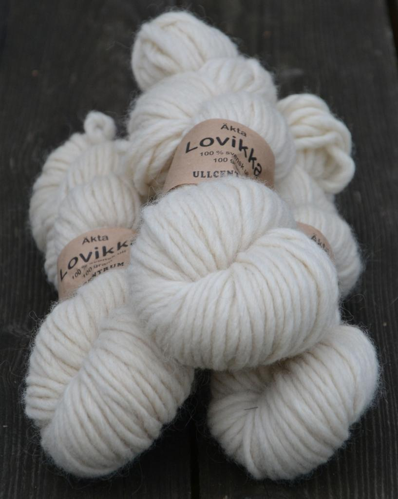 Lovikka - 0101  Weißes Gotland / White